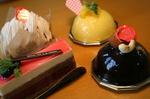 07'秋の新作ケーキ